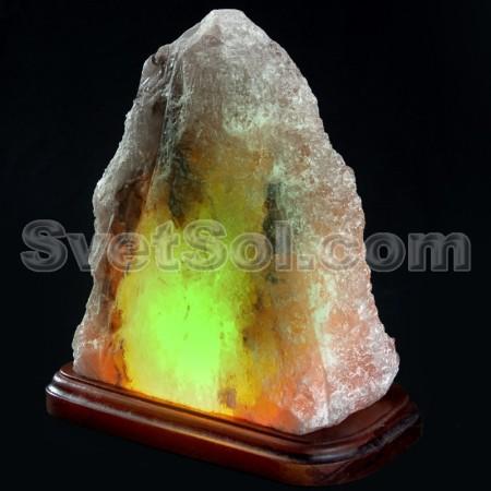 Светильник из соли скала хамелеон