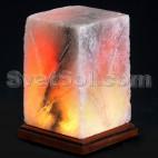 Квадрат соляной светильник