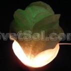 Роза - соляной светильник