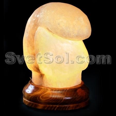Боксерская перчатка - соляной светильник хамелеон