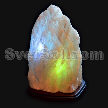 Хамелеон 2 диода - соляная лампа скала
