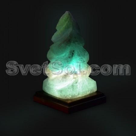 Елка - соляная лампа