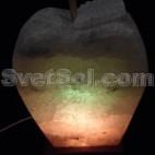Яблоко 4кг Соляная лампа