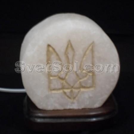 Герб Украины малый Соляная лампа