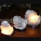 Улитка малая соляной светильник