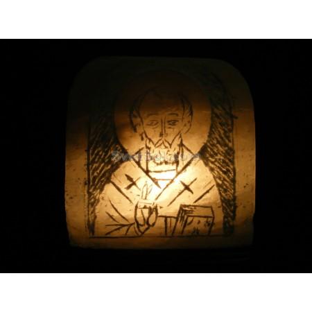 Соляная лампа Образ Святого Николая